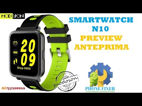 Smartwatch N10 Preview e Unboxing, Anteprima By PHONE FIXER