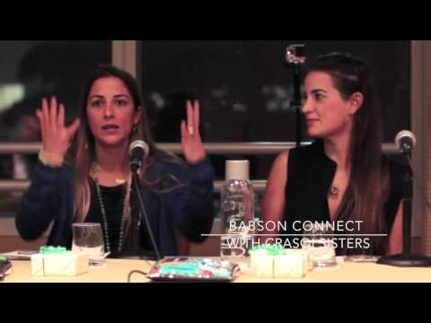 Babson Interview with Crasqi Sisters
