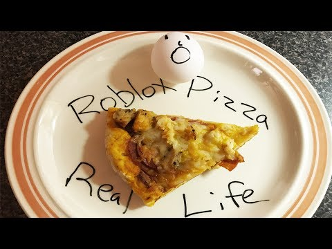 ROBLOX PIZZA In REAL LIFE