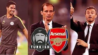 Next Arsenal Manager? | Arteta, Allegri, Enrique | My Thoughts...