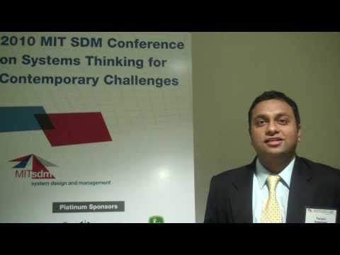 Taroon Aggarwal, System Design and Management Fellow, MIT, 2010