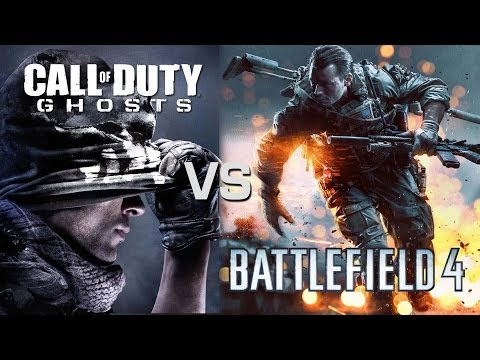 Call of Duty: Ghosts vs Battlefield 4 - Wargames
