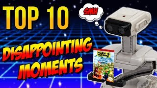 Top 10 Disappointing Moments in Retro Gaming