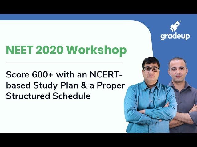 Score 600+ with an NCERT-based Study Plan & a Proper Structured Schedule