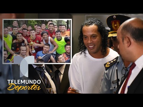 Las razones por las que a Ronaldinho lo van a extrañar en la cárcel | Telemundo Deportes