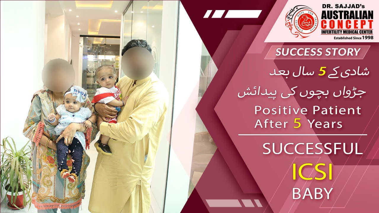ICSI Success Story | 5 Years of Infertility Successfully Treated | Australian Concept