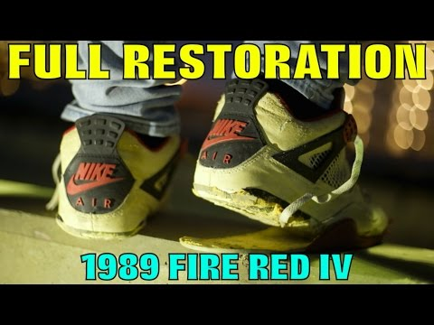 1989 OG FIRE RED IV FULL RESTORATION!!