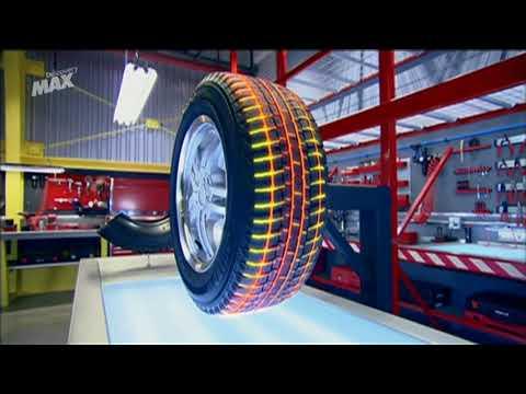 Como evacuan el agua los neumáticos de lluvia