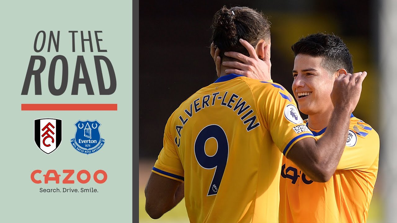 ON THE ROAD: FULHAM V EVERTON | BEHIND THE SCENES AT CRAVEN COTTAGE WITH CAZOO