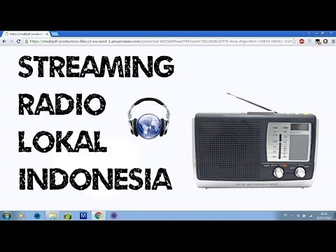 Streaming Radio Lokal Indonesia Secara Online Internet