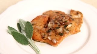 Turkey Cutlets With White Wine Gravy - Laura Vitale - Laura In The Kitchen Episode 670