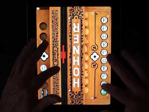 Hohner Cajun SqueezeBox for iPad and iPhone