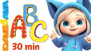 🔤 ABC Song for Kids | Learn ABC`s and Phonics | Alphabet Songs from Dave and Ava 🔤