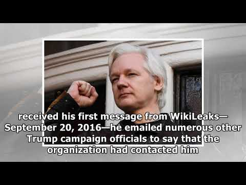 [Daily Times]For nearly a year, wikileaks was dming with donald trump jr.