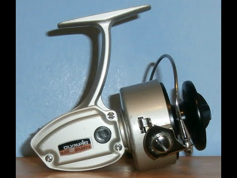 Olympic Atlantis 1300 - Japan, 1970s - Fixed Spool Spinning Fishing Reel
