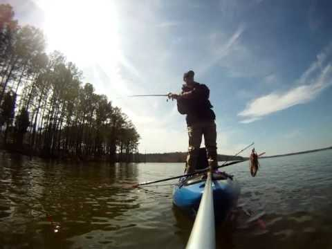 Jackson coosa kayak review fishing outing to test the for Best gopro for fishing