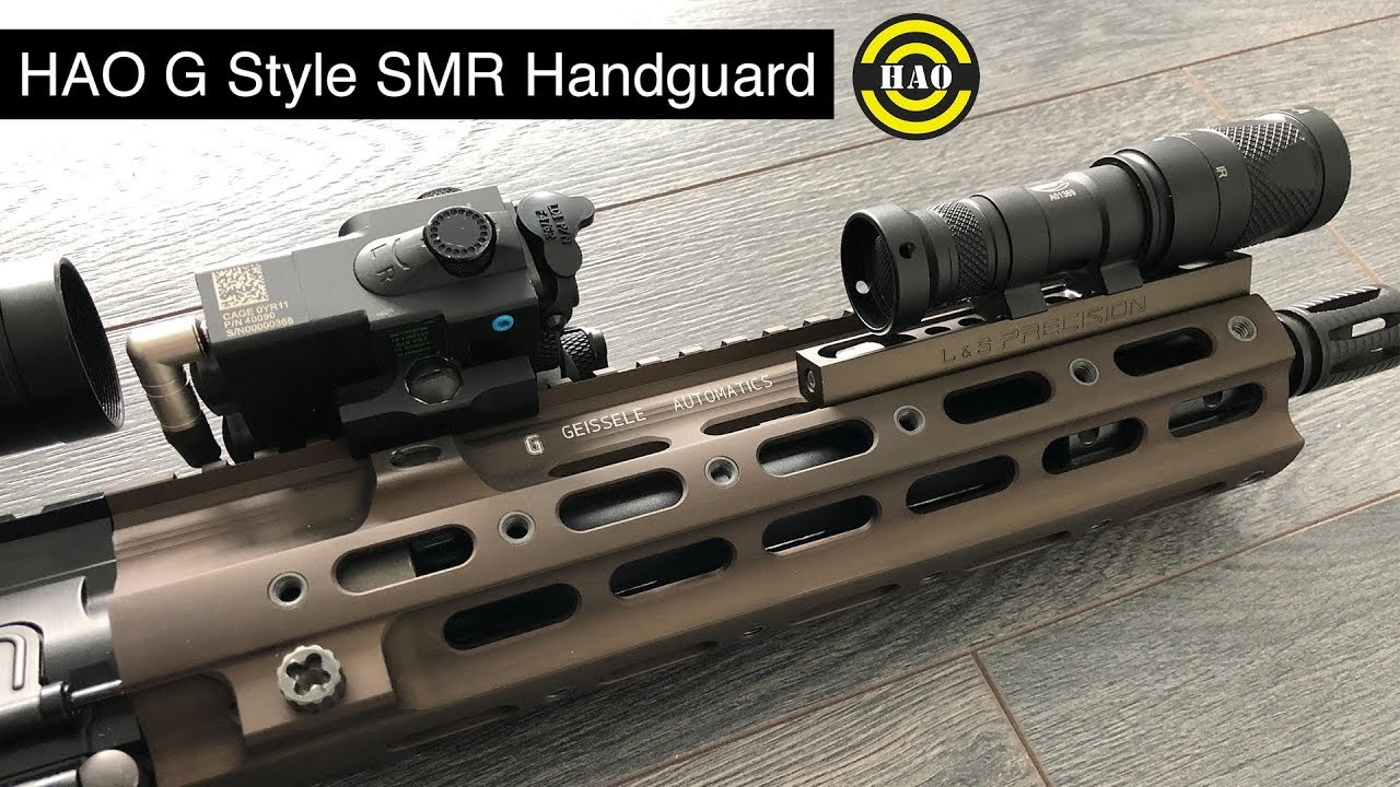 HAO G Style SMR Handguard - Geissele Rail