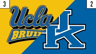 3 UCLA vs. 2 Kentucky Prediction | Who
