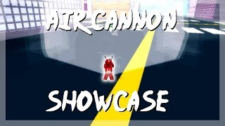 Spin Uncommon Quirk | AIR CANNON SHOWCASE [OFA REVAMP] Boku No Roblox : Remastered