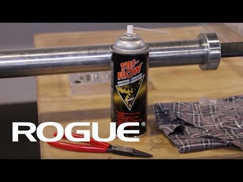 How to disassemble and clean your Rogue Fitness barbell