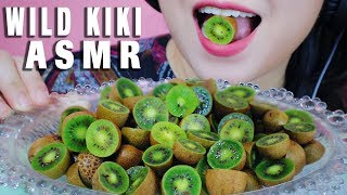 ASMR WILD KIWI MIΧED WITH SWEET AND SPICY FISH SAUCE EXTREME SOUR EATING SOUNDS   LINH-ASMR