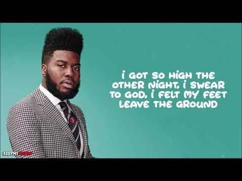 Khalid - Better ( Lyrics Video )