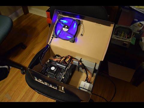 Diy computer case cardboard
