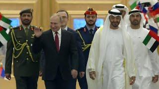 В Абу-Даби прошли переговоры В.Путина с наследным принцем Арабских Эмиратов Мухаммадом аль Нахайяном