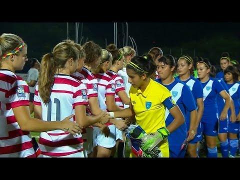 U-20 WNT vs. Guatemala: Highlights - Jan. 13, 2014