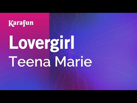 Karaoke Lovergirl - Teena Marie *
