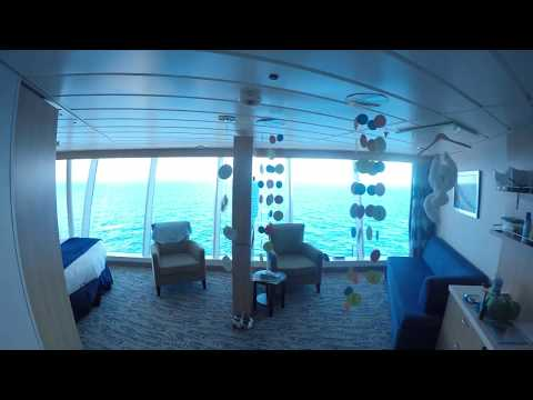 Freedom of the Seas - 1804 Stateroom Tour - Family Panoramic Ocean View 4K
