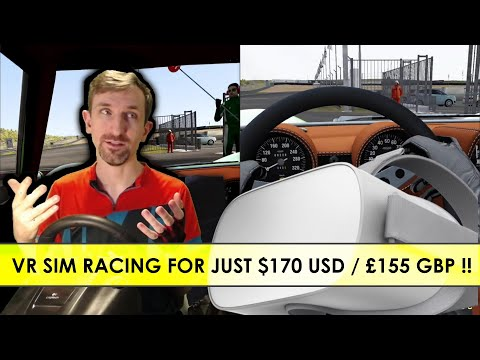 Oculus Go Works For VR Sim Racing At Just $170 USD!