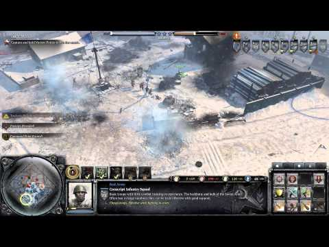 Company of Heroes 2 - Victory at Stalingrad DLC - Winter Storm - General Difficulty