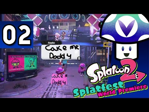 [Vinesauce] Vinny - Splatoon 2: Splatfest World Premiere (part 2)