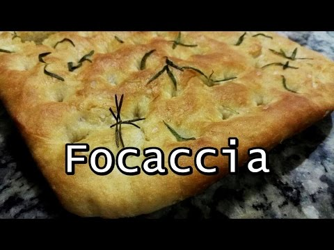 Como fazer Focaccia (por Fernando Couto)