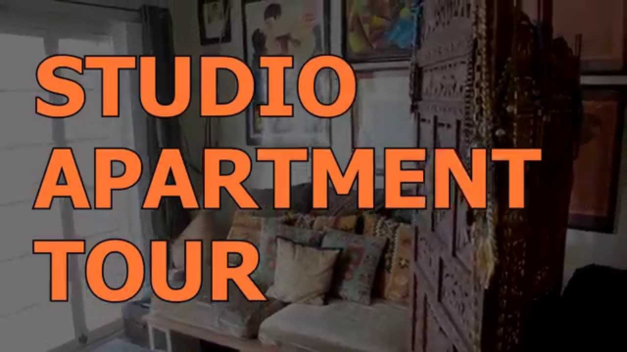 Studio Apartment Separate Sleeping Area studio apartment tour/ creating a sitting room separate from the