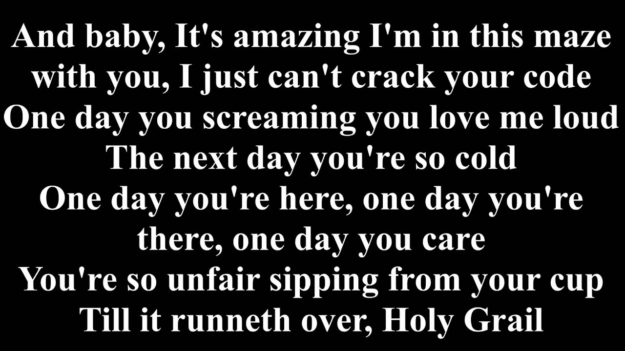 Jay-Z - Holy Grail Ft  Justin Timberlake [Lyrics] - YouTube