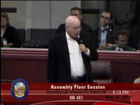 "NV Assemblyman Jim Wheeler (R) ""What have we done"""
