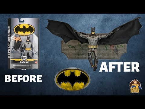 Batman Missions: Batman Figure Makeover- Chris' Custom Collectables!