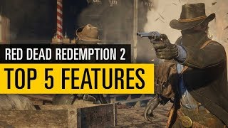 Red Dead Redemption 2 TRAILER |  Unsere Top 5 Gameplay-Features
