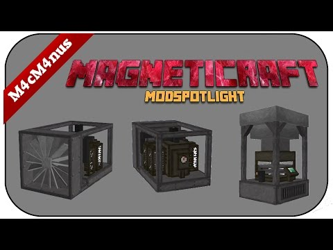 MINECRAFT MAGNETICRAFT MODSPOTLIGHT 1/2 - Mega Maschienen für Minecraft Technik - Spotlight German