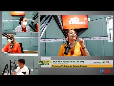 Assista entrevista com a candidata do PSTU à Prefeitura do Natal, Rosália Fernandes