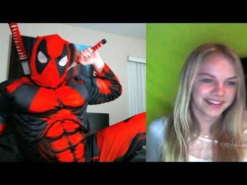Deadpool on Omegle!