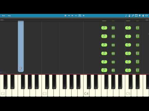 Trey Songz - Nobody Else But You - Piano Tutorial
