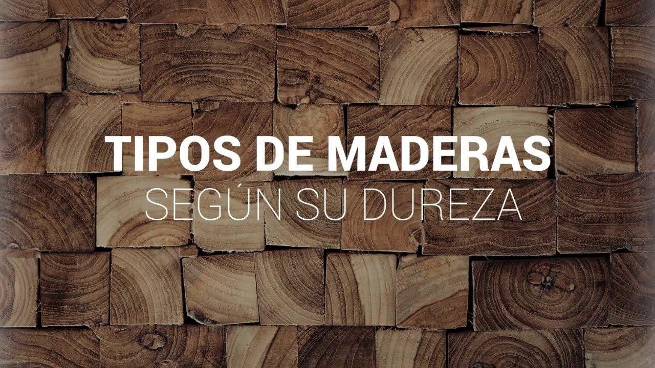 Tipos de maderas youtube - Tipos de barnices para madera ...