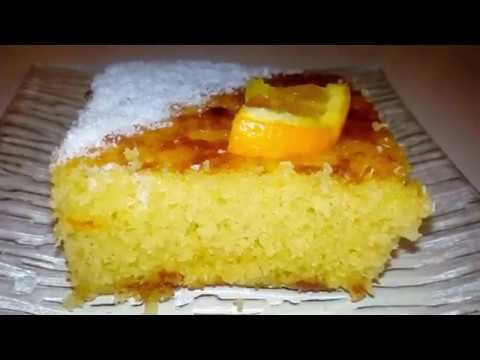 gâteau-à-l'orange-moelleux-/-basboussa-à-l'orange-facile