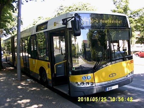 BVG Linie M41 Sonnenallee - Hauptbahnhof