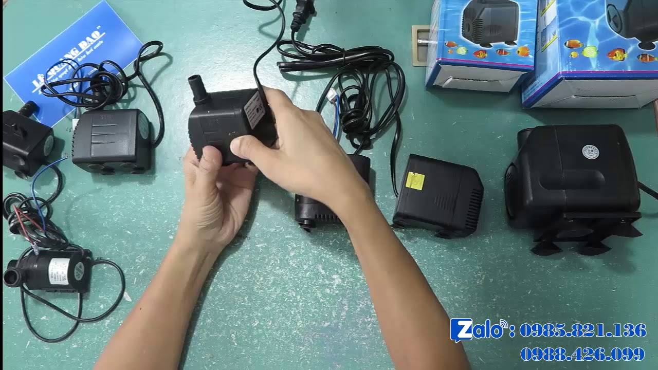 Cách chọn máy bơm cho quạt điều hòa hơi nước - YouTube