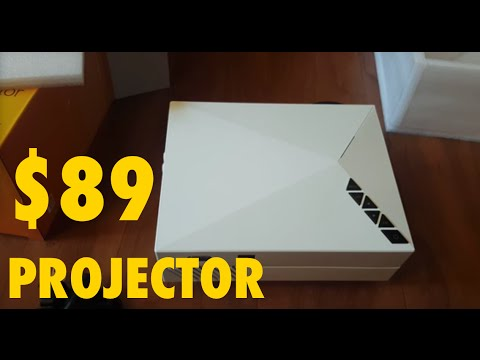 2016 model mini led projector review abdtech prochosen 130 for Pocket projector reviews 2016