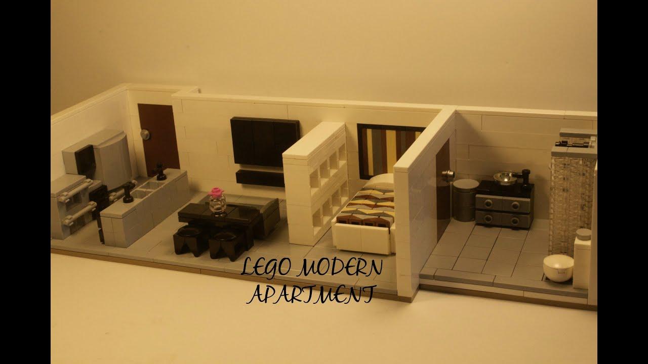 Custom Lego Modern Apartment Moc Full Walkthrough And